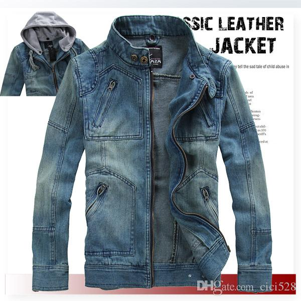 Plus Size S 5xl2015 New Arrival Mens Jeans Jacket Male Casual