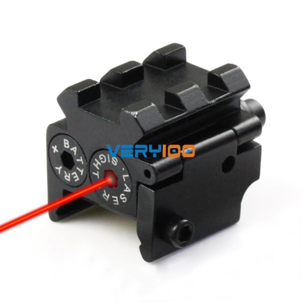 Tactical Mini pistola rossa del laser del puntino Mirino guida del tessitore / Picatinny Mount 21 millimetri di nuovo trasporto libero di ordine $ 18no pista