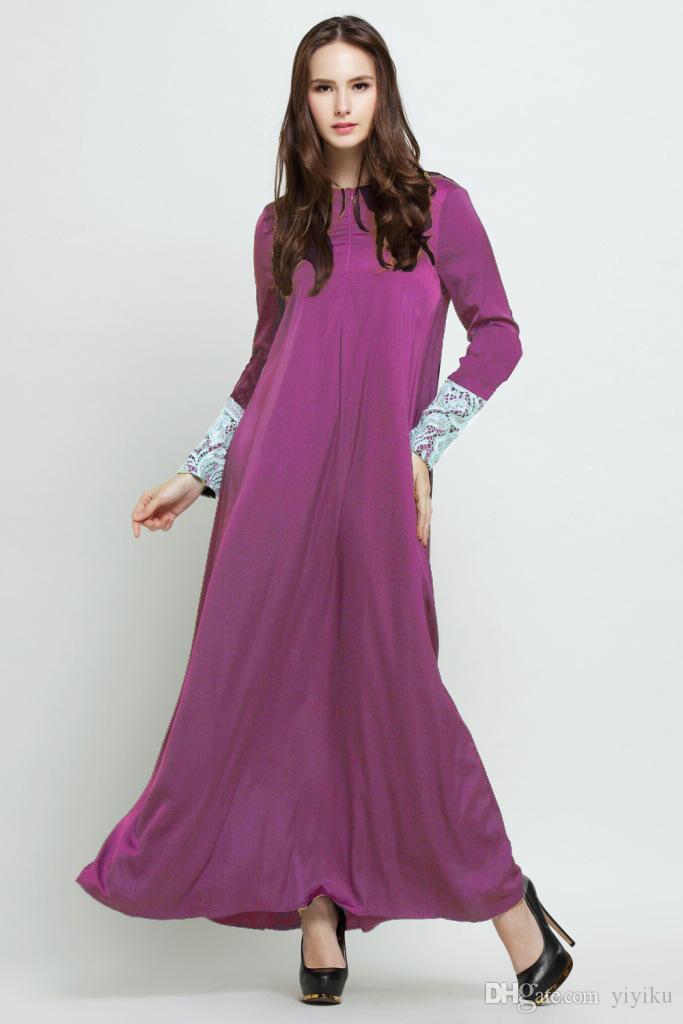Compre 2015 Nuevo Abaya Abaya Turca Ropa Últimos Diseños De Ropa ...