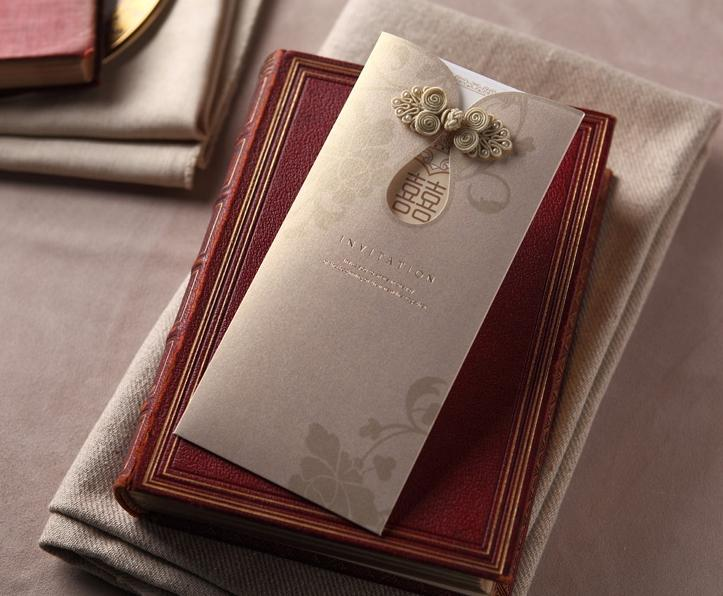 Chinese Style Wedding Invitations Cards Invitation With Envelope And Seal