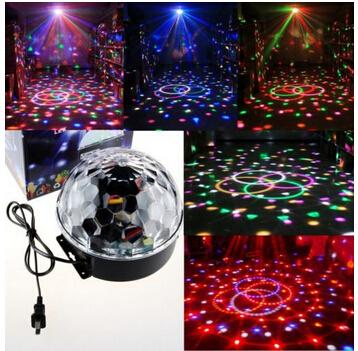 Effect Light Stage Lighting For D19 18W LED RGB DJ Club Disco Party Crystal Magic Ball Lampfair