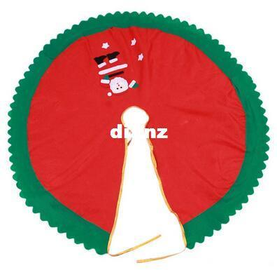 New Arrive 90cm Santa Claus Tree Skirt Christmas Tree Skirt Christmas Tree Christmas supplies christmas decorations