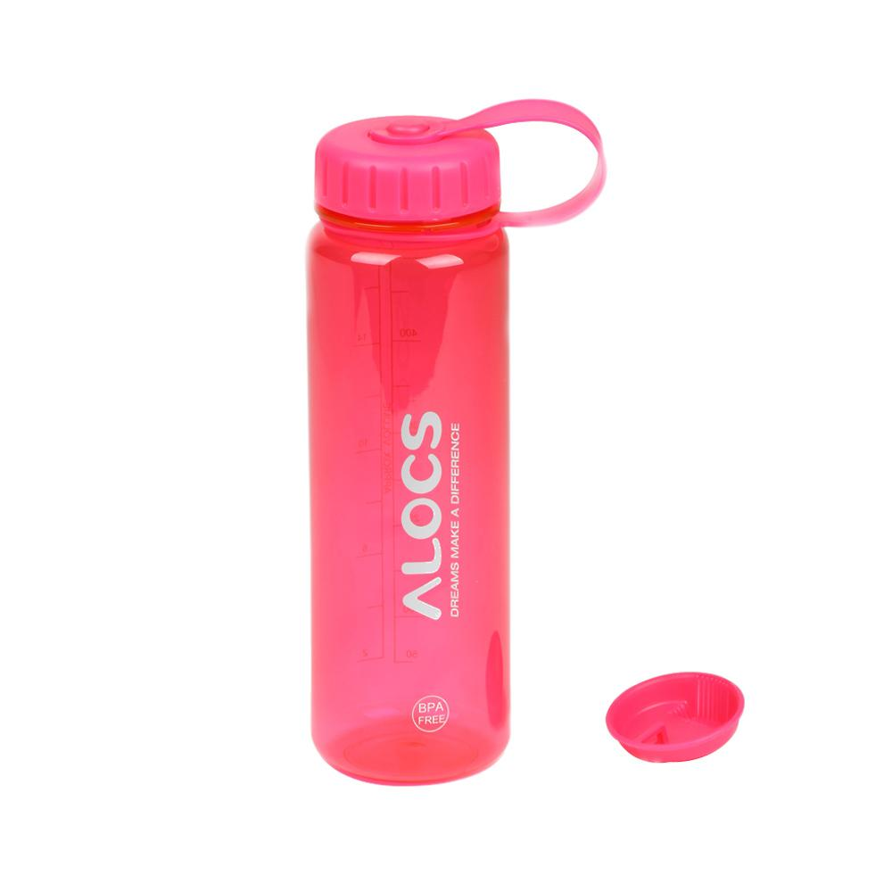 500 ml ALCOS WS-B05 옥외 휴대용 플라스틱 Tritan 스포츠 물병 필터 커버 사이클링 하이킹 캠핑 여행