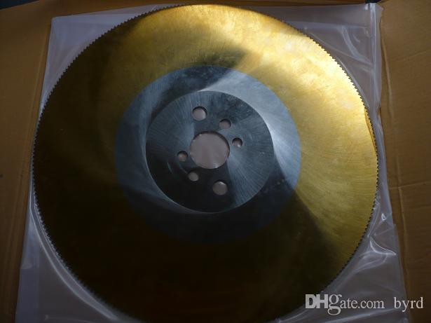 스테인레스 스틸 절삭 공구 절단기 톱 황금에 대한 apol 12 인치 고속 스틸 톱날 325 * 160 * 32mm HSS-M42 절단 톱날