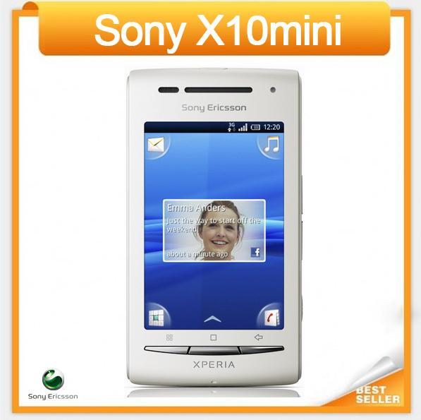سوني إريكسون Xperia X10 مصغرة E10 E10i الأصلي مقفلة الهاتف الخليوي شحن مجاني