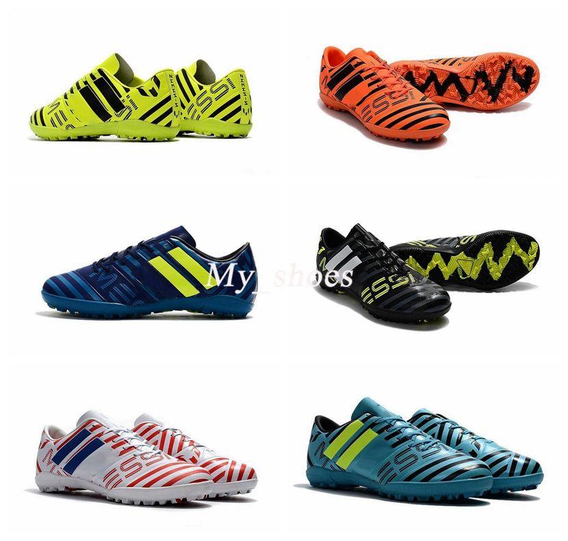 a129acb4b Mens Classic Football Boots NEMEZIZ 17 FG AG Soccer Shoes Tango 17.3 IC TF Messi  NEMEZIZ 17.1 Agility Superfly Soccer Cleats