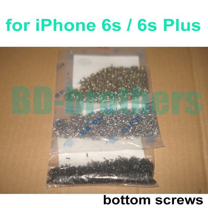 Yeni Orijinal Altın Gümüş Siyah Alt Vida Pentalobe Dock Vidalar iPhone 6 s / 6 s Artı Konut Değiştirme 2000 adet / grup