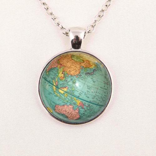 Wholesale hot glass dome jewelry vintage globe necklace planet earth world map necklace art glass dome pendant glass gemstone necklace 101 gold hot glass dome jewelry vintage globe necklace planet earth world map necklace art glass dome pendant gumiabronc Image collections