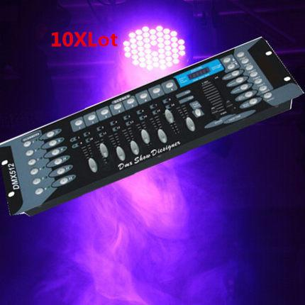 Hot 2015 10XLot 192 DMX controller, DJ Controller equipment DMX512 Console Stage Lighting Controller Free Shiping