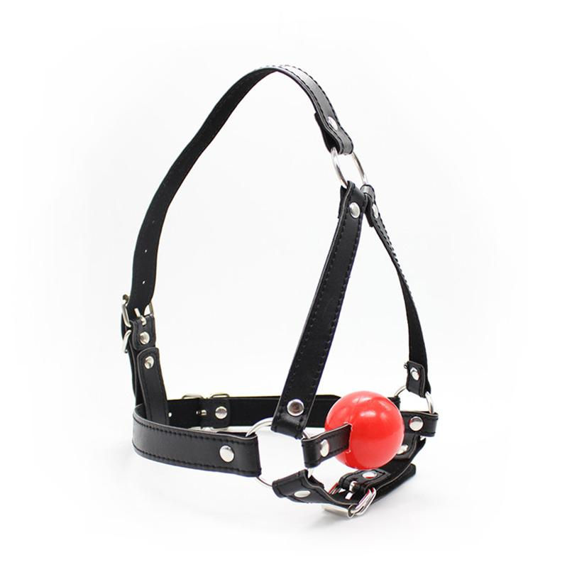 Open Mouth Gag Head Harness Mask Fetish Restraint Bondage Adult Game for Couples Flirting Sex Products Toy for Couples Women 171001
