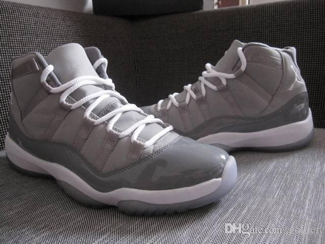 grosor Enojado Principiante  2021 Authentic 100% Real Air Jordan 11 Retro 11 Cool Grey High Men And  Women With Real Carbon Fiber Glitters Leather Original Box From Golder,  $362.7 | DHgate.Com
