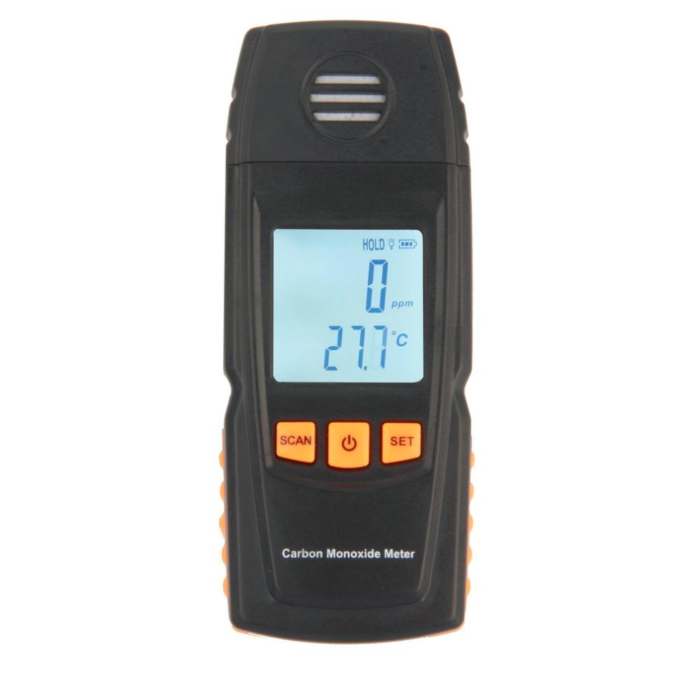 Freeshipping 1 Pc Handheld Carbon Monoxide CO Monitor Detector Meter Tester 0-1000ppm GM8805 Brand New