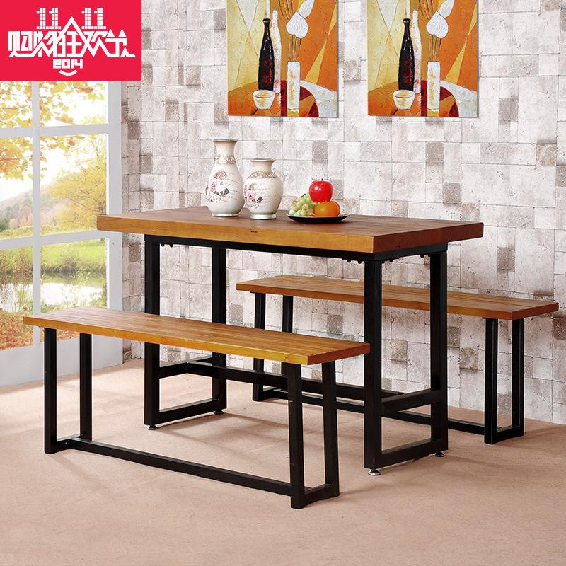 Cheap computer desk desk combination rectangular dining table set furniture home office furniture