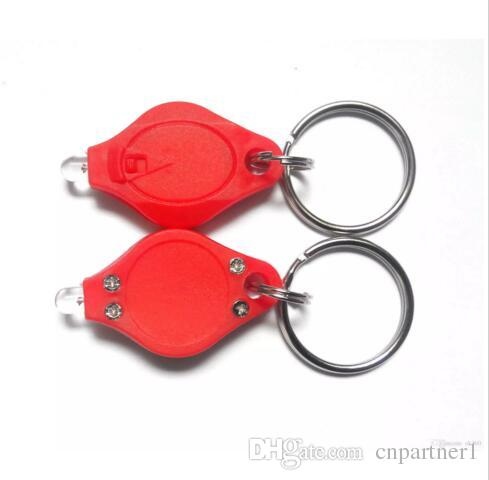 KT00005373 /'Red Panda Face/' Keyring LED Torch