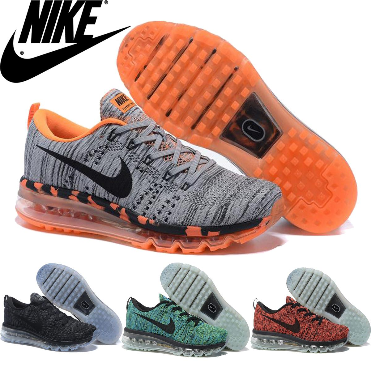 Nike Flyknit Air Max 2016 Premium Men'S Women'S Running Shoes,Original Quality Nike Airmax Flyknit Maxes For Men Women Sports Sneakers Shoes Shop Free
