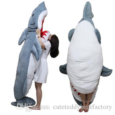 promo code f62bc 2bec4 2019 2016 High Quality Personality Animal Shark Sleeping Bag Huge Plush  Soft Sharks Beanbag Sofa Bed 2 Sizes From Cuteteddybearfactory, &Price;    ...