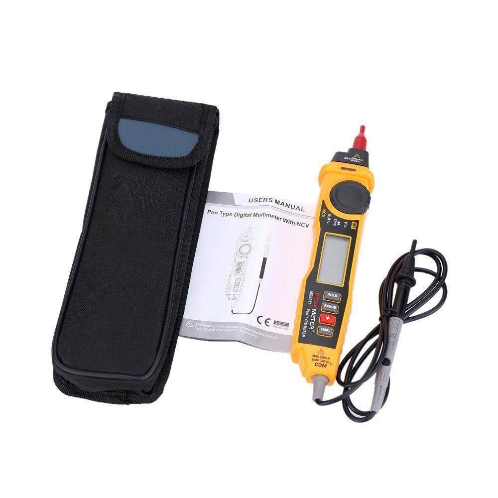 MS8211 NCV AC DC Current Voltage Resistance Diode Connectivity Multitester Pen Type Digital Multimeter-8