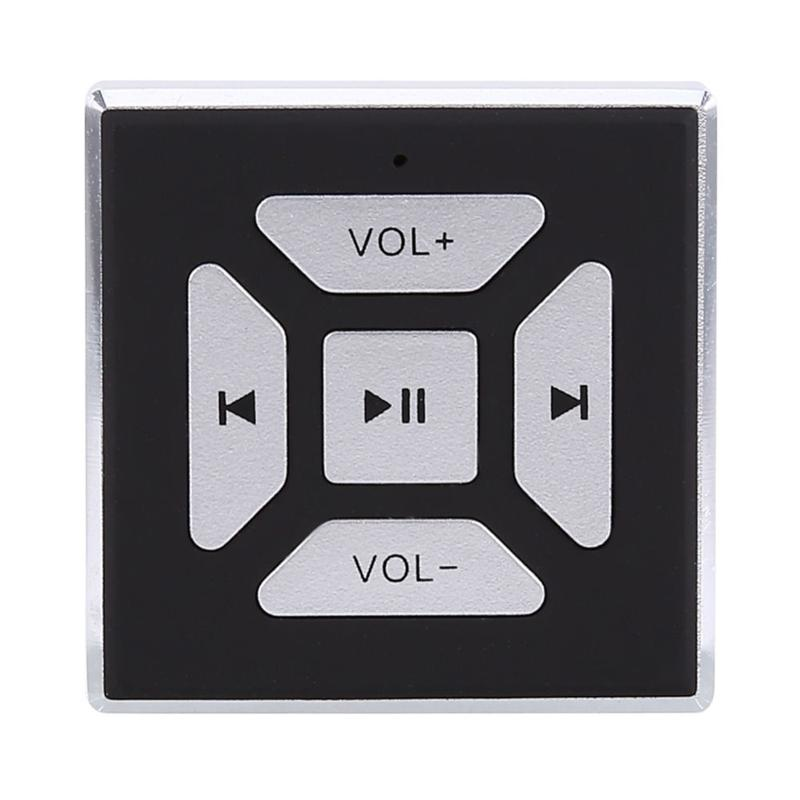 New Hot Car Wireless Bluetooth Media Music Steering Wheel Remote Control Button For Car Electronics Accessories