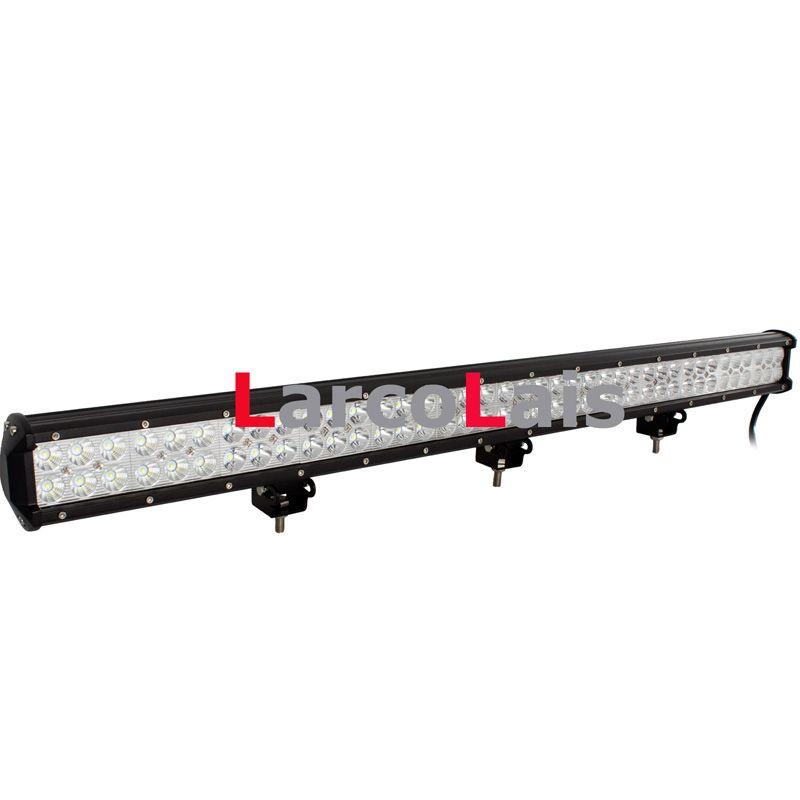 36 인치 234W 크리 어 LED 라이트 바 지프 트럭 트레일러 4x4 4 륜 SUV ATV 오프로드 자동차 12v 작업 램프 연필 확산 빔