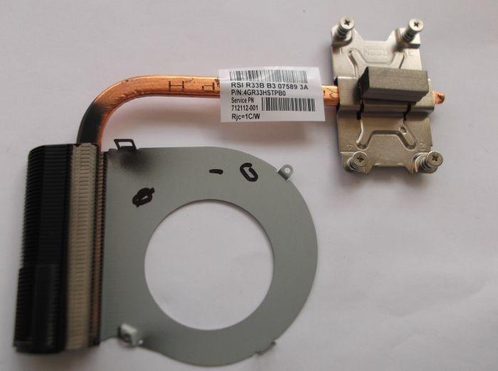 nuovo 711471-001 per HP g4 g6 g7 G6-2000 G4-2000 G7-2000 laptop cooler raffreddamento radiatore dissipatore di calore