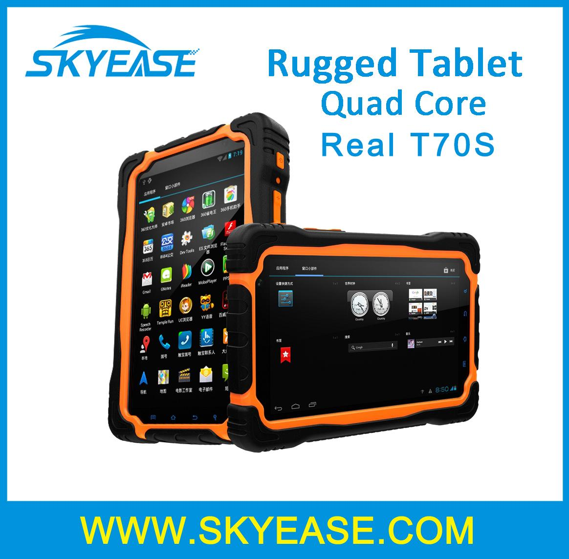 7 inch quad core rugged tablet PC Android 5.1 3GB RAM+32GB ROM WiFi GPS Bluetooth 4G Lte