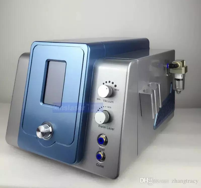 Touch Screen 2 In 1 Diamant Microdermabrasion Hydra Dermabrasion Hydro Gesicht Wasser Sauerstoff Jet Peel Gesichtsmaschine Mit Vier Reinigungsflasche
