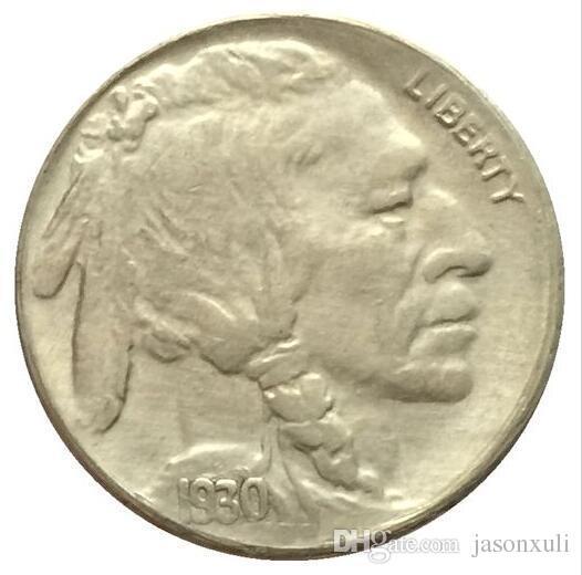 1930-S BUFFALO NICKEL COIN COPY SPEDIZIONE GRATUITA