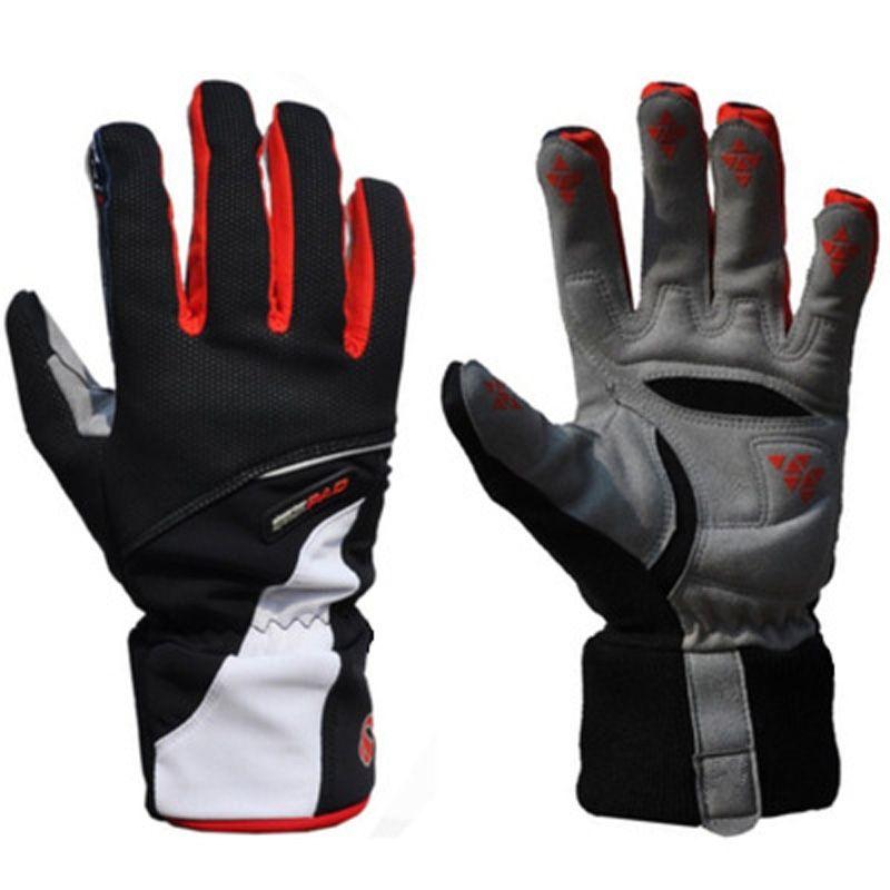 Männer Winddichte Wasserdichte Fleece Ski Handschuhe / Winter Outdoor Sport Guantes / Ciclismo Snowboard Guantes Motorrad Schnee Skifahren Handschuhe