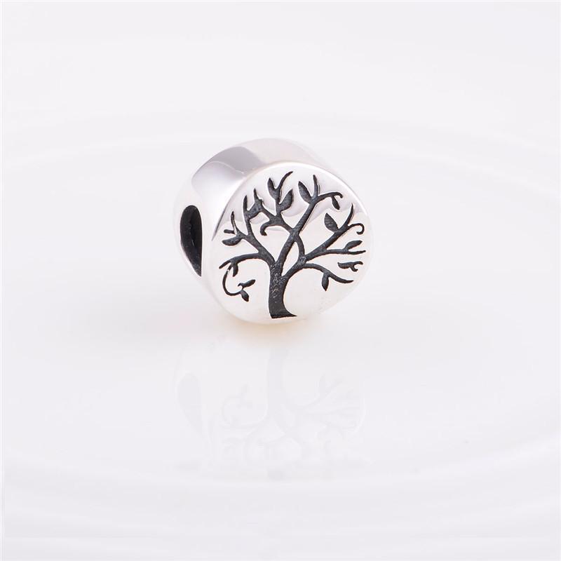 يناسب باندورا حجية 925 فضة الخرز شجرة الحياة سحر النساء diy النتائج مجوهرات يناسب كاميليا سحر سوار الأوروبي