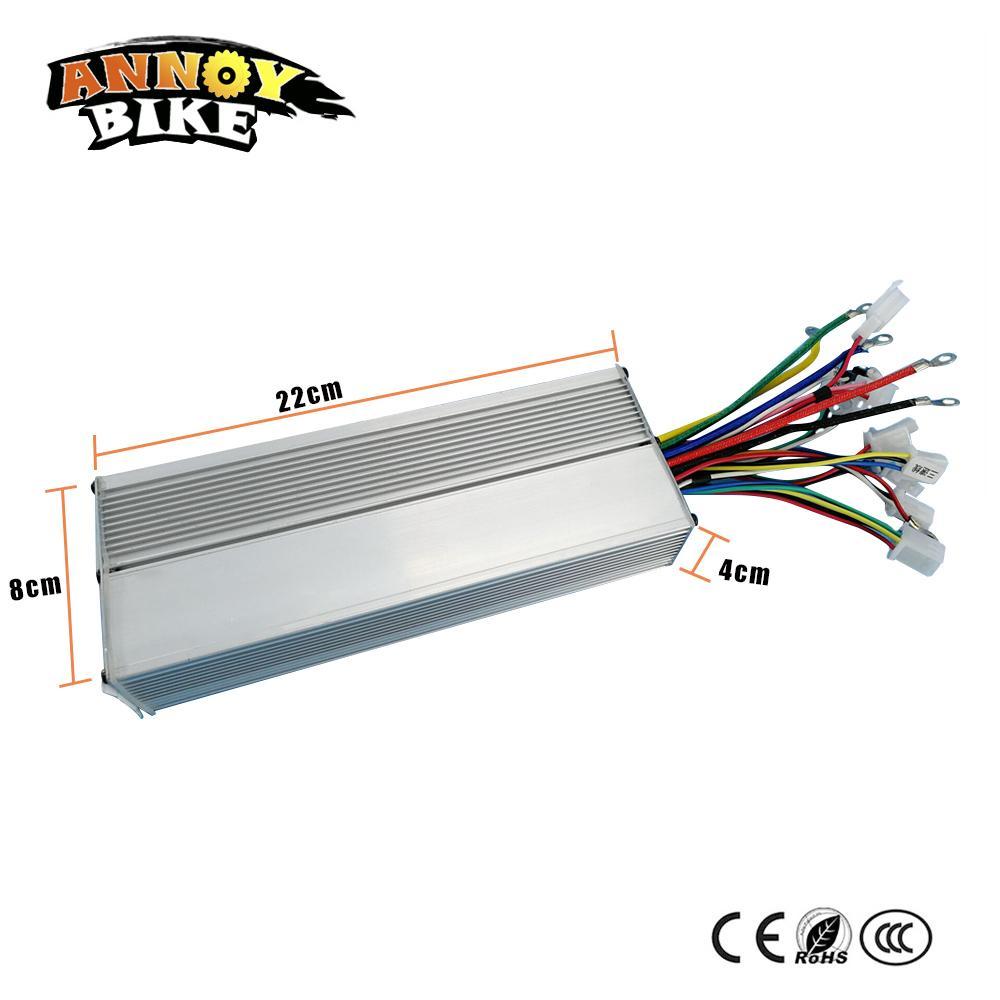 48V60V72V96V Dual modus 18 mosfet 1000 Watt 45Amp bürstenlosen controller DC sinuswelle geräuschlosen elektrofahrzeug controller
