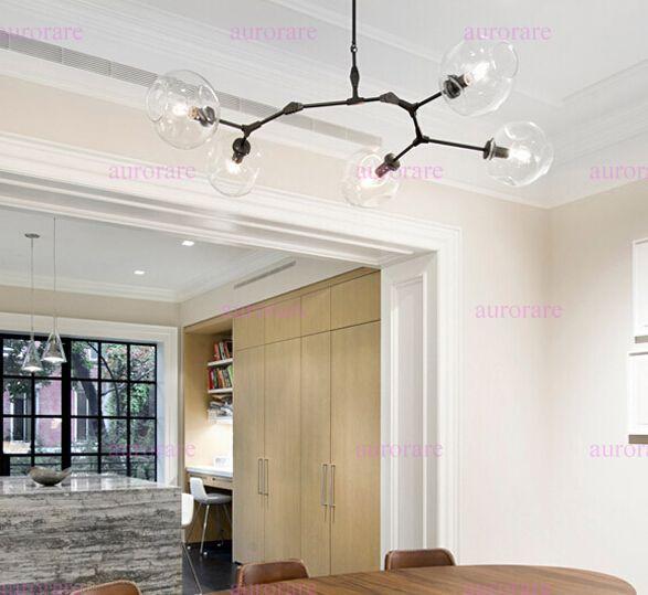 ... Lindsey Adelman Chandeliers Lighting Modern Lamp Novelty Pendant Light  Natural Tree Branch Suspension Light Hotel Dinning ...