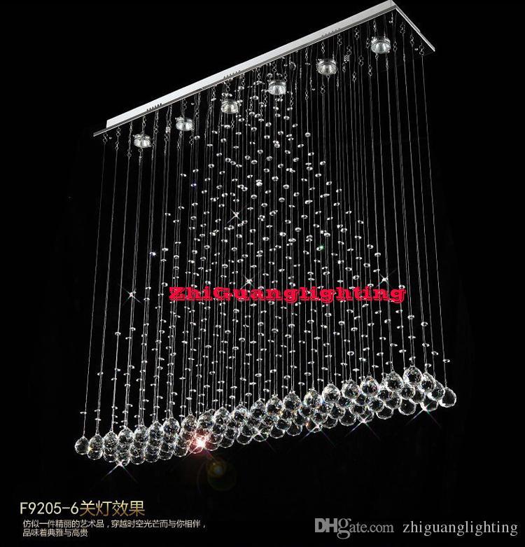 Moderna luz do teto lâmpada do quarto moderno breve lâmpadas de cristal penduradas luzes de teto led círculo lâmpadas retângulo montado