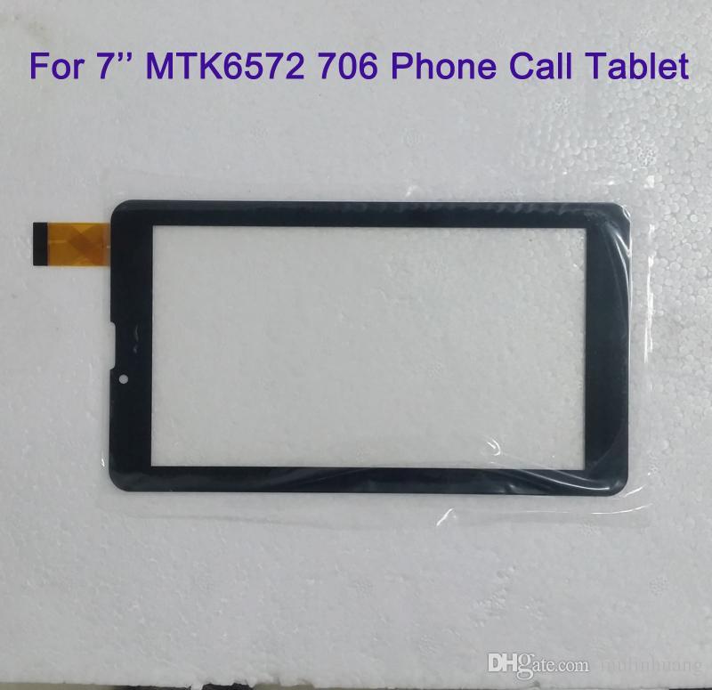 لمدة 7 بوصة MTK6572 MTK6582 706 3 جرام 2 جرام مكالمة هاتفية شاشة اللمس لمس الشاشة لوحة زجاج محول الأرقام digitiser استبدال MQ50