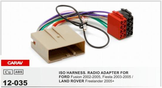 radio wiring land rover carav 12 035 iso radio adapter for ford fusion 2002 2005  fiesta  carav 12 035 iso radio adapter for ford