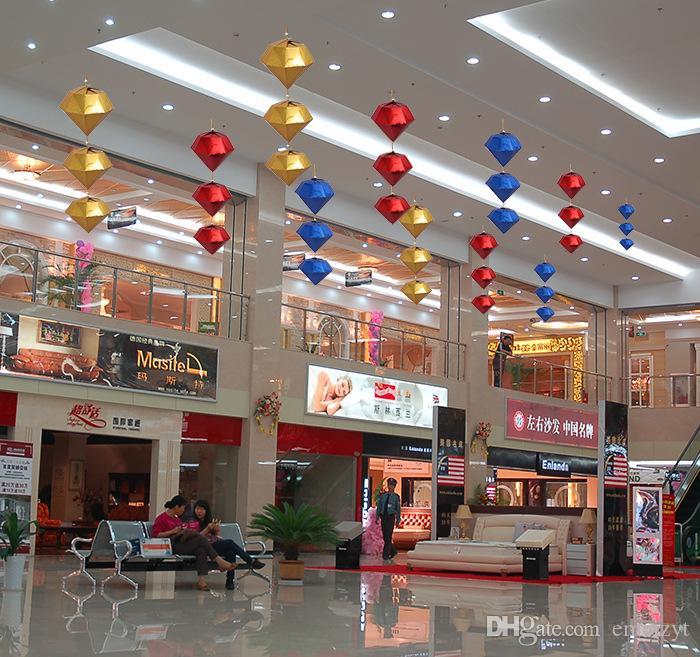 Short Description Color Red Blue Gold and silver Size 30cm 45cm and 60cm  Material Paperboard Sales. Decoration Shop