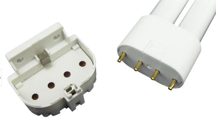 2G11 adaptador casquilho, base de luz UV para a ampola