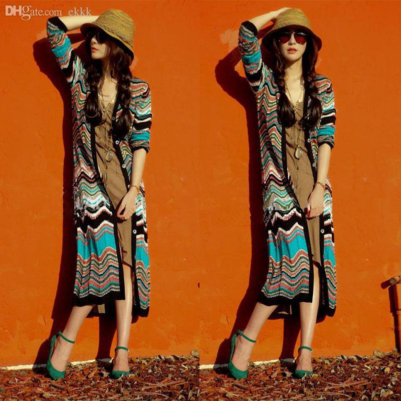 Atacado-Senhora Moda Feminina Listrado Colorido Palha Praia Verão Sol Panamá Chapéu