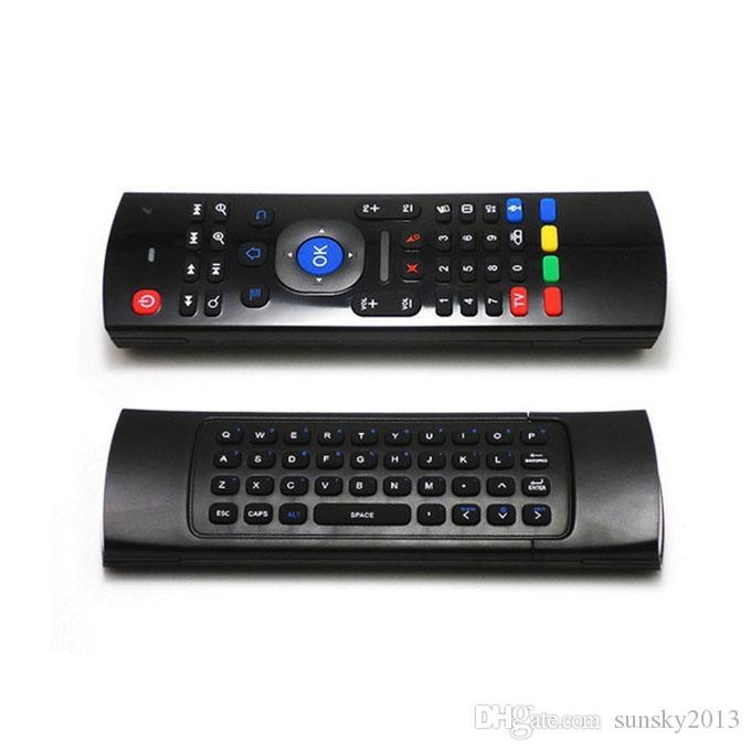 X8 Air Fly Mouse MX3 2.4GHz Wireless Keyboard with Backlit Remote Control Somatosensory IR without Mic for Android TV Box Smart Backlight
