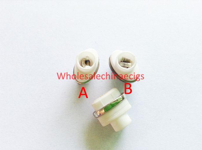 Micro Dual Wax Ceramic coils for dry herb g Vaporizer herbal vaporizers pen Wax dry herb atomizer e cigarette g pro vaporizer pen