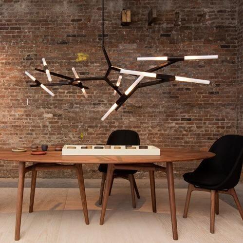 Venda quente Modern Agnes Lustre - 14 Luz sala de Jantar / Sala de estar Iluminação 4 cores Frete Grátis