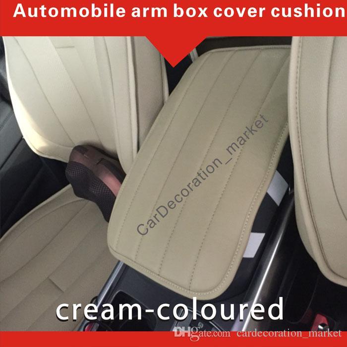 Mode Interieur Accessoire Decoratie Prado 2.7L Armrest Cover Kussen, Prado 3.5L Voertuig Center Console Box Cover Pad onder voorste autostoelen