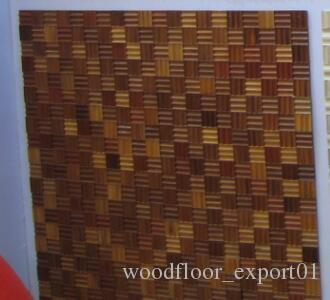 Small box floor Mosaic floor floor fight Medallion Asian pear Sapele wood floor Private custom wood Profiled wood flooring Asian