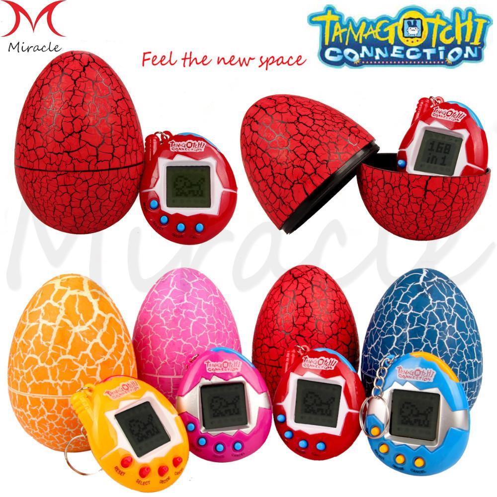 Tamagotchi Dijital 49 Evcil Komik Sanal Siber Elektronik Pet Çocuk Oyuncakları Dinozor yumurta Retro Çocuklar Oyun Nostaljik 90 S