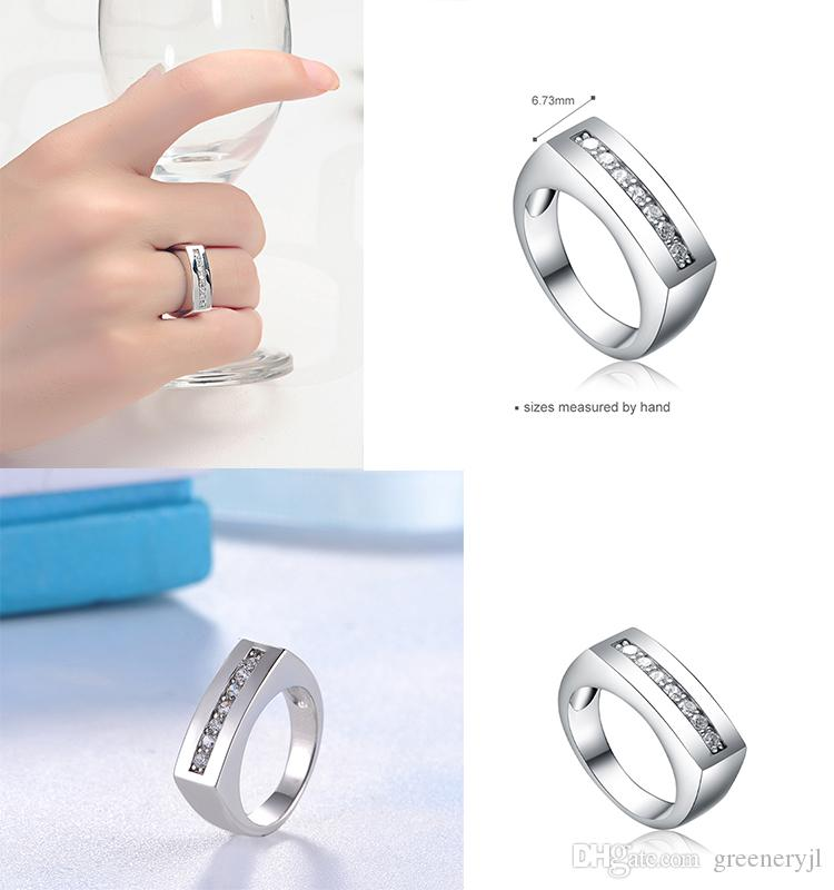STARHARVEST 925 Sterling Silver Big Thumb Band Men Silver Rings ...