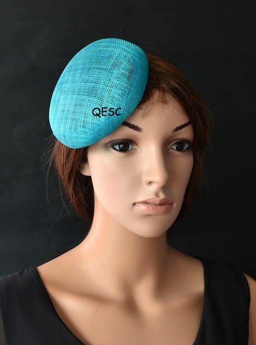 12 colours.14cm alta qualità portapillole di base sinamay con grossgrain fascia per il cappello di fascinator, Kentucky Derby church.40pcs gare partito / lot.