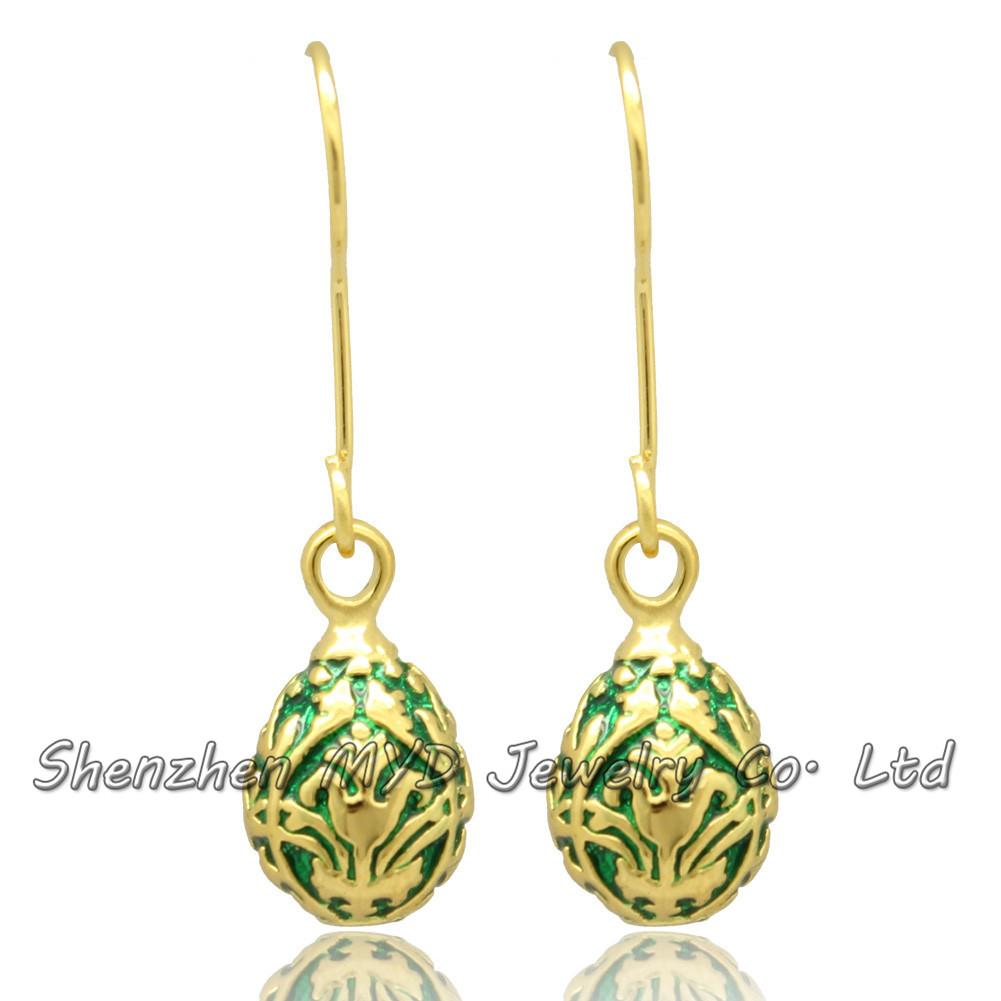 Happy Easter Day Jewelry Women Color Enameled Faberge ... |Happy Easter Jewelry