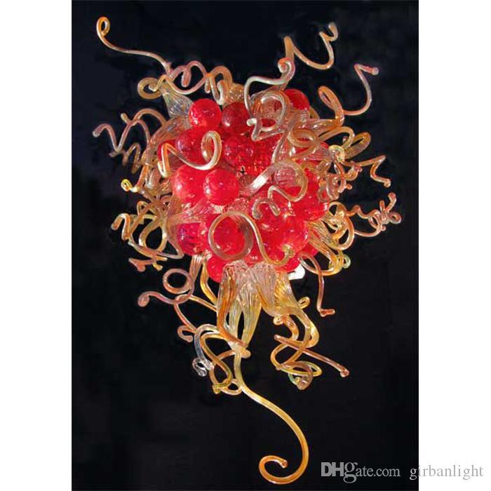 Hotel Dekor Mundgeblasenes Glas LED Kronleuchter Modern Art Dekor Nach Maß Murano Glas Einzigartig designter LED Kronleuchter mit CE UL Zertifikat