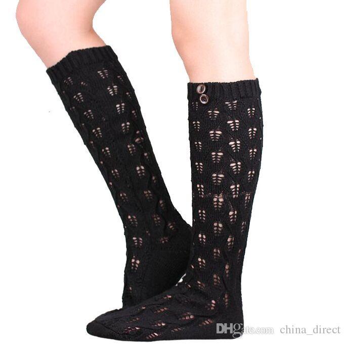 ausbrennen Stocking Stulpen Tanz Socken Aufwärmen gestrickte Beute Gamaschen Boot Manschetten Socken Boot Covers Leggings Tight 14pair / lot # 3936