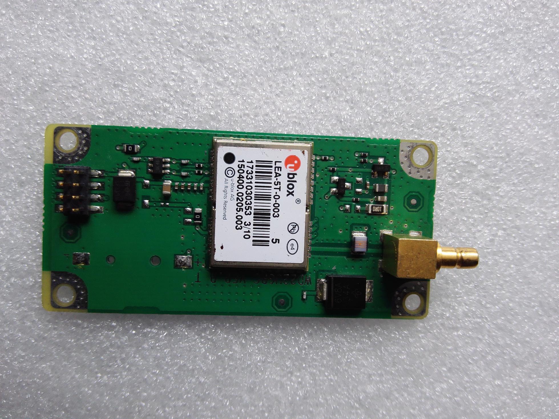 UBLOX LEA-5T (Coche de la Junta del Módulo GPS)