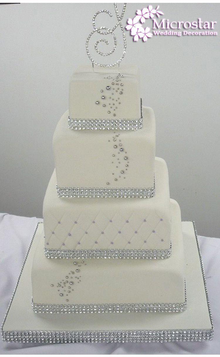 Gold Deco Mesh Trim Wedding Decoration Bling Diamond Mesh Wrap Birthday Cake Roll Sparkle Party Rhinestone Crystal Ribbons (2)